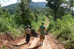 Trek with a Hmong guide.