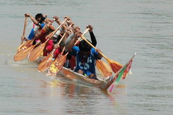 Boat racing is an ancient tradition in Thailand
